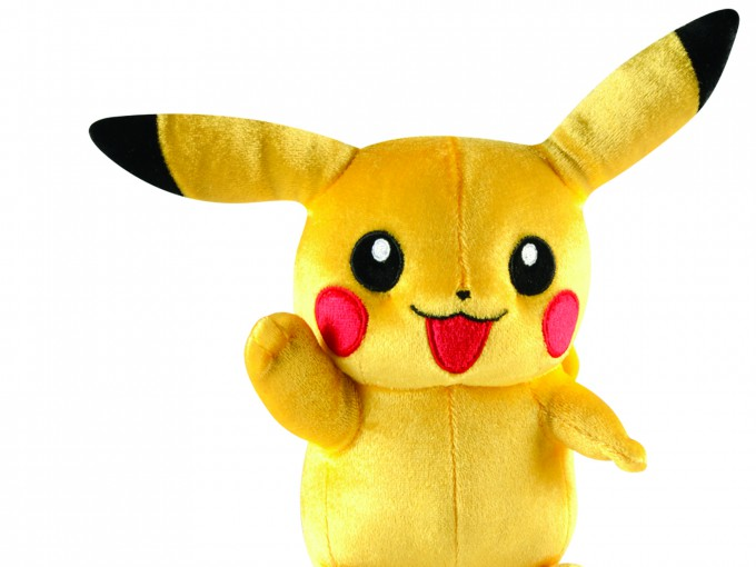"8"" Pikachu Plush - Original Pose"