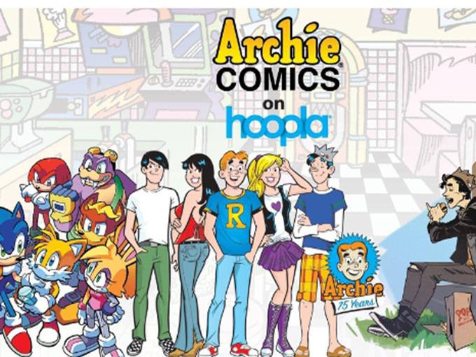 Archie Comics hoopla Press Image