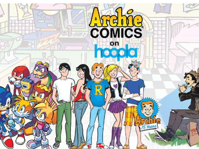 Archie Comics hoopla Press Image