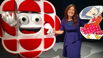 DOT. creator Randi Zuckerberg and new Kids' CBC mascot CeeBee