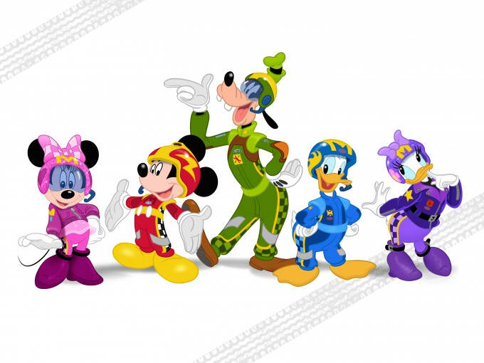 MINNIE MOUSE, MICKEY MOUSE, GOOFY, DONALD DUCK, DAISY DUCK