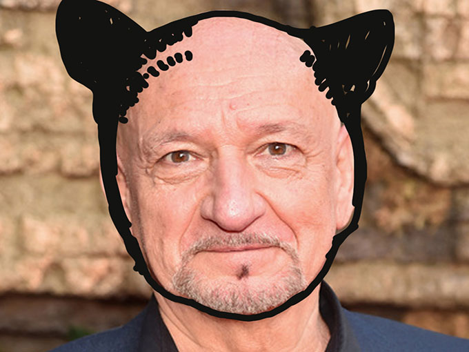 Snapchat gave The Jungle Book's Sir Ben Kingsley a new look