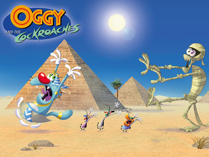 Oggy-Roaches