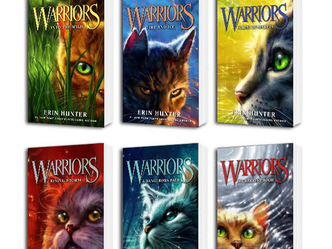 Warrior Cats Books First Series