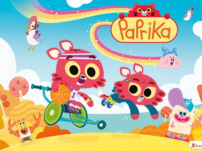 Kidscreen paprika