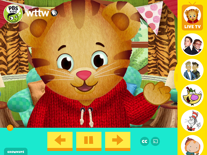 PBS launches 24/7 children's channel