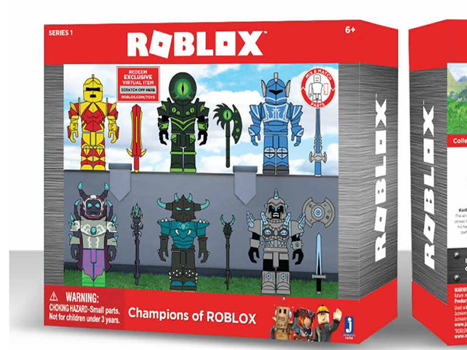 Kidscreen » Archive » Jazwares brings Roblox's world into the toy space