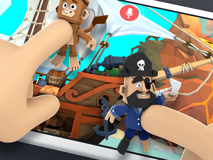 Google's Toontastic 3D lets kids (and adults) create storytelling cartoons