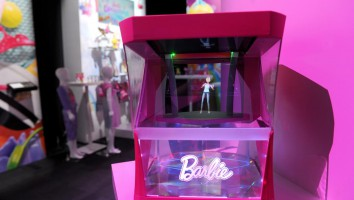 BarbieHologram