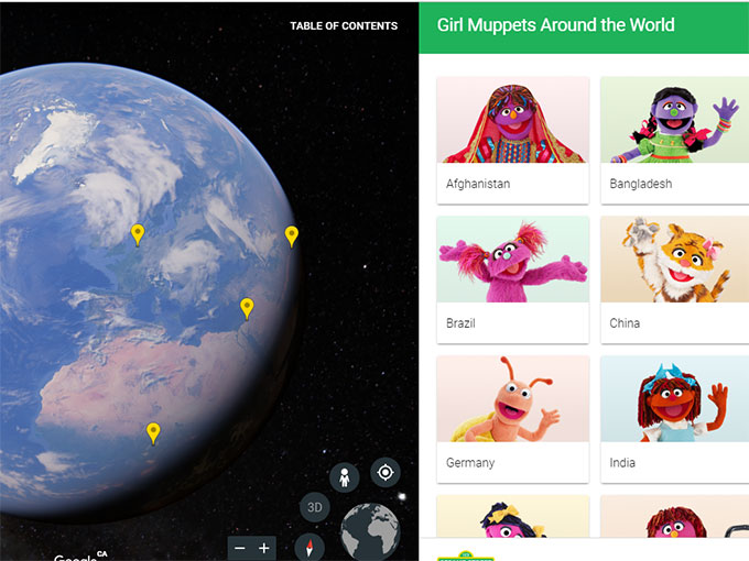 UAE sites featured in new Google Earth programme