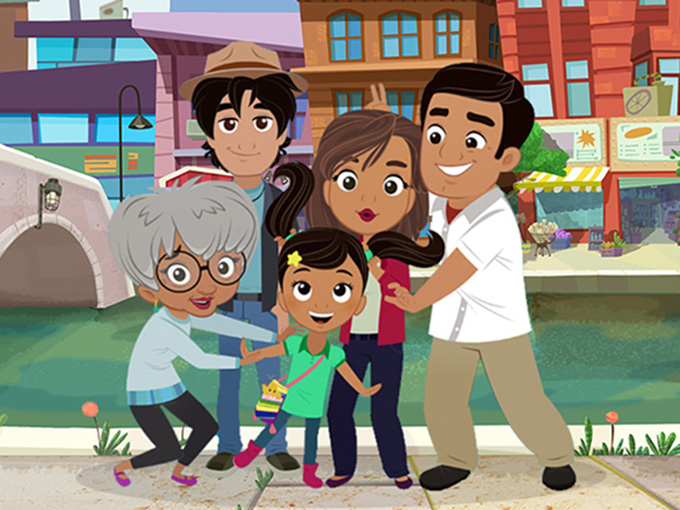 Sprout's multicultural, multigenerational series Nina's World will be back for a second season