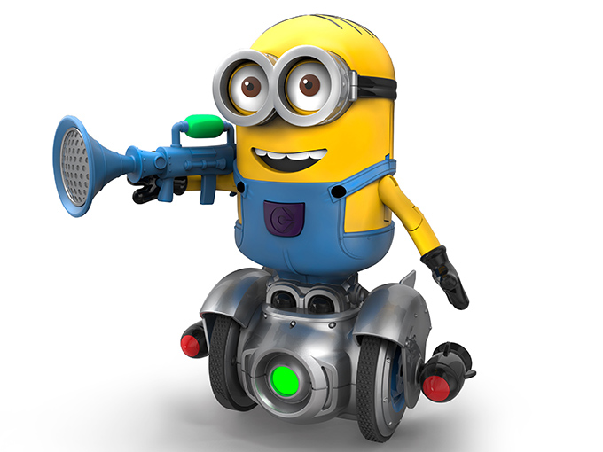 The Wowwee MiP Turbo collectible Minion toy for Despicable Me 3