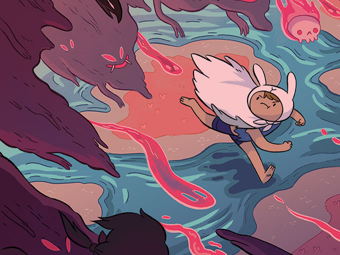 CN miniseries Adventure Time: Islands hit comic book stands before TV
