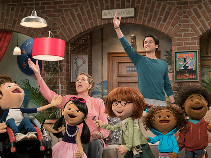 Netflix and Henson are prepping to debut the SVOD's first serialized preschool series Julie's Greenroom.