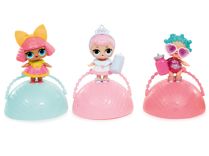 MGA Entertainment's new L.O.L. Surprise! line combines collectibles with unboxing as each doll comes surrounded by seven layers of wrapping
