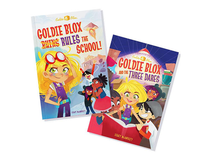 GoldieBlox-Books