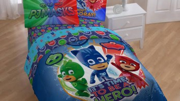 PJ-Masks-Bed