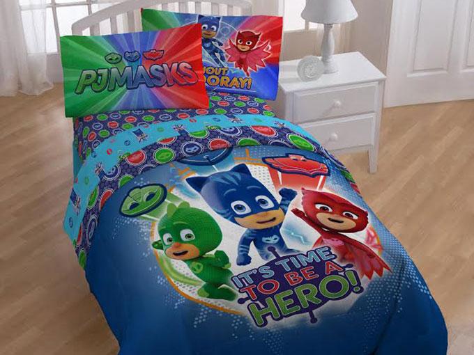 PJ-Masks-Bed
