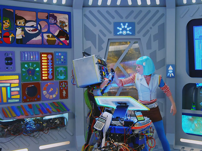 Like The Magic Store's Yo Gabba Gabba!, RAD Lands features format-bending edutainment that engages without preaching