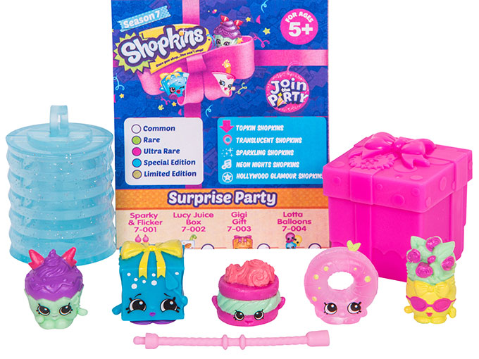 Since its launch in 2014, Moose Toys' Shopkins line has grown to include hundreds of collectible characters and a range of Shoppies Dolls