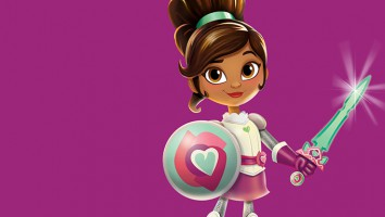 Nickelodeon's new series Nella the Princess Knight focuses on empowerment and compassion