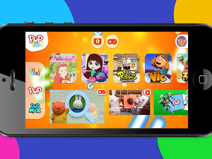 Sony Pictures Television Launches UK Kids App On Top Of Games And Customization Features Pop Fun