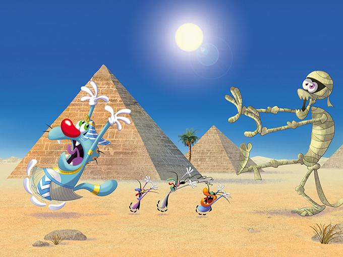 Oggy-Egypt