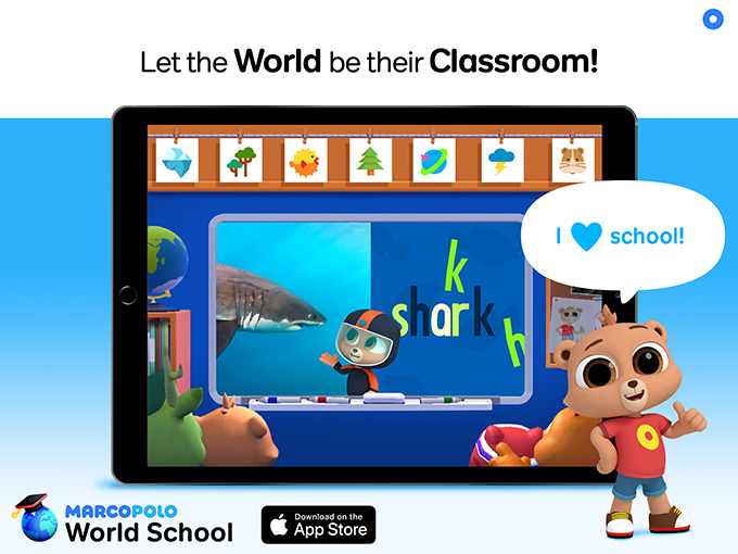 Kidscreen » Archive » MarcoPolo launches early-learning app World School