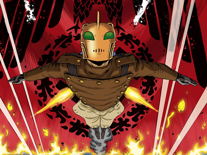 Dave Stevens' ROCKETEER Returns... As Disney Animated Series