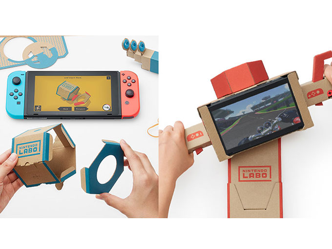 Nintendo-cardboard