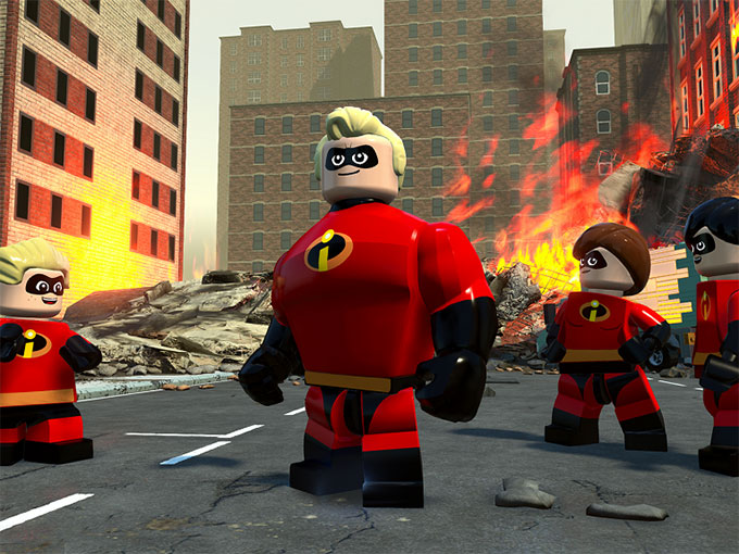 LEGO The Incredibles Launches Together With Movie Sequel