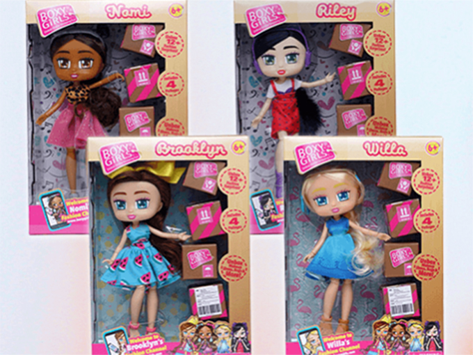 boxy girls collectibles get exclusive with walmart