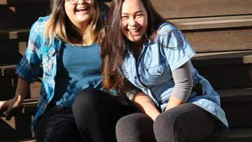 Jenine Yuksel (l) and Kaea Taurere (r) star in Loretta Todd's upcoming Fierce Girls web series