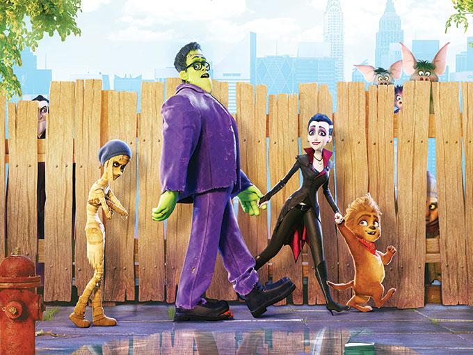 Happy-Family-Walking