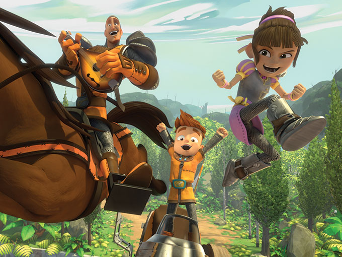 TeamTo and Thuristar's  My Knight and Me recently sold to broadcasters including Hulu, UYoung and YLE