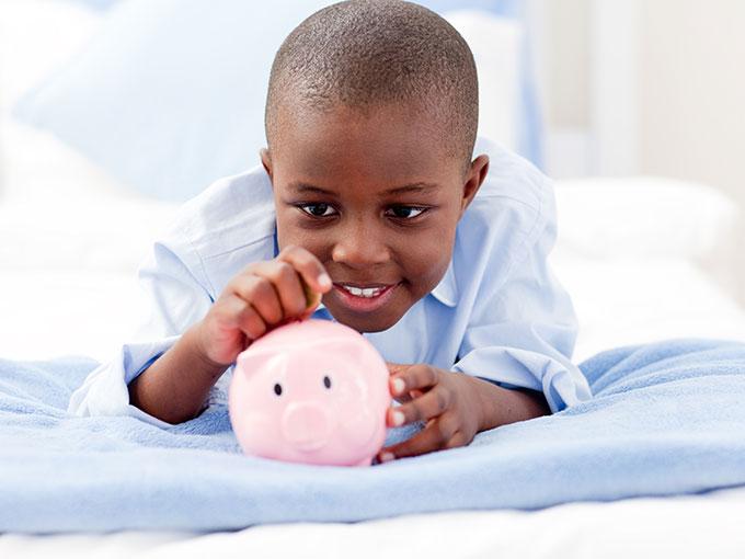 child-piggy-bank