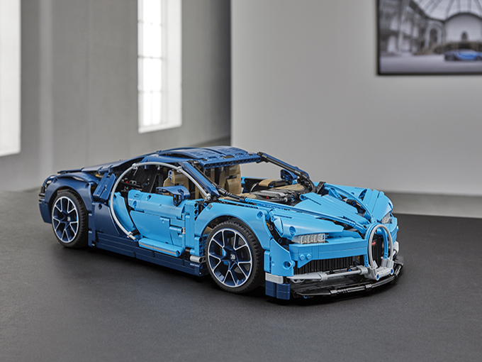 Kidscreen Archive Lego Rolls Out Bugatti Chiron Replica Model