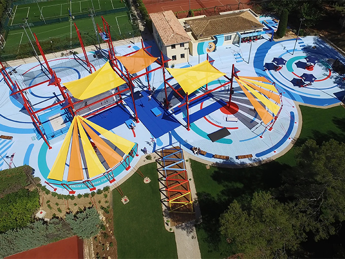 Cirque's Creactive centers will feature aerial parkour and dance