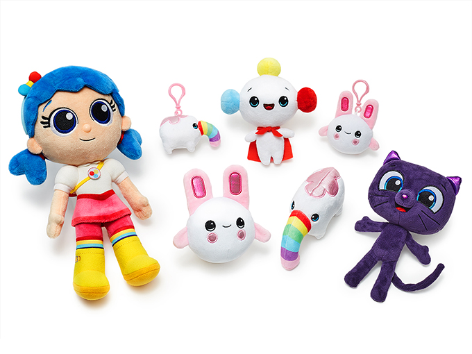 Rainbow Kingdom Plush