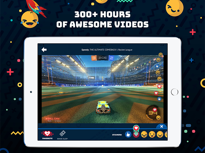 Along with videos from opoular third-party games, like vehicular soccer-based Rocket League, Tankee will be launching exclusive original content from its own production unit and influencer partners in the coming months