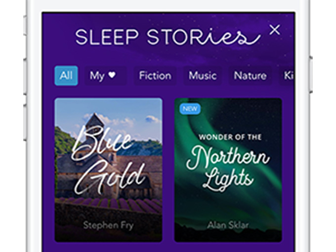 sleep stories feature