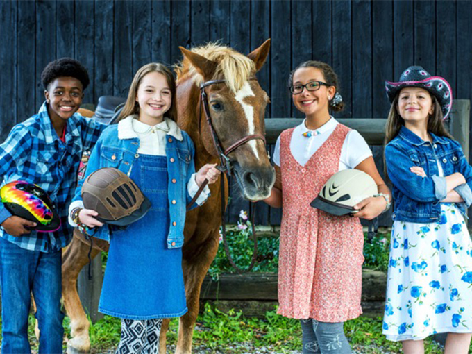 A unique partnership with 4-H Clubs helped Ponysitters Club find viewers on Netflix