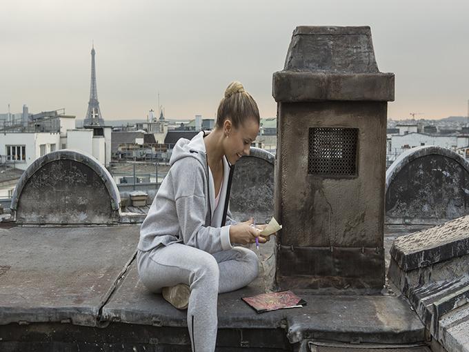 Tournage Find me in Paris