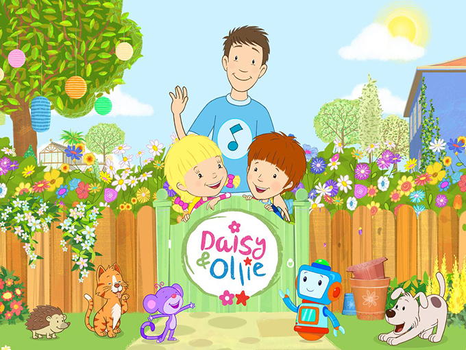 Promotional image for UK show Daisy & Ollie