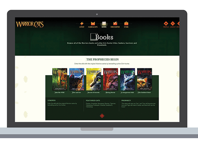 For a spoiler-free experience, website users can set content filters based on the last book they read
