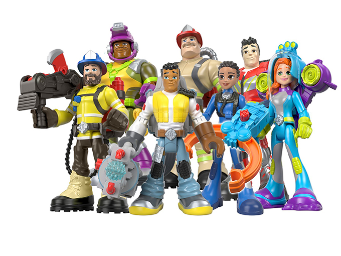 Kidscreen Archive Fisher Price Relaunches Rescue Heroes Brand