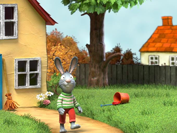 Rabbit walking