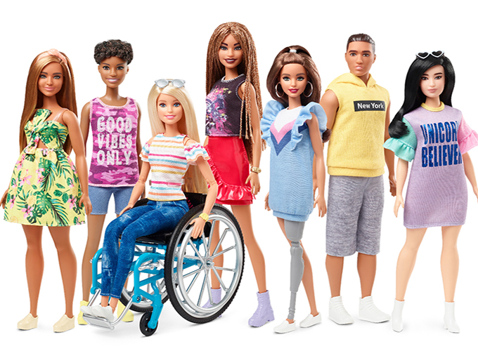 Barbie's diamond anniversary includes diverse new dolls