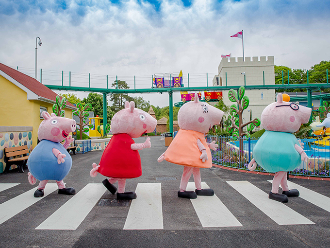 Live and location brand extensions are at the center of eOne's birthday plans for Peppa