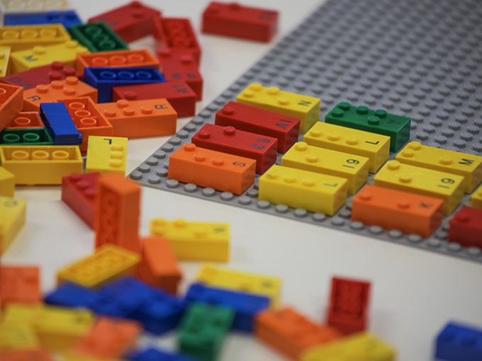 LEGO Braille Bricks